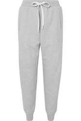 The Upside One Love Cotton Terry Track Pants Gray