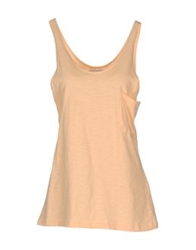 Prim I Am Sleeveless T Shirts Apricot
