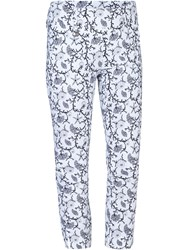 Daily Sports Coral High Water Trousers White