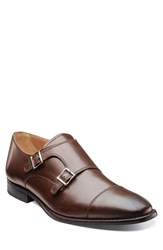 Men's Florsheim 'Sabato' Double Monk Strap Shoe Brown