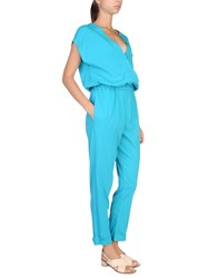 Jucca Jumpsuits Turquoise