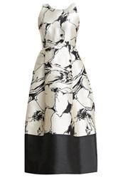 Lk Bennett Cocktail Dress Party Dress Black Cream Beige
