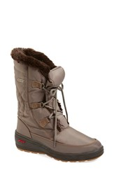 Women's Pajar 'Marcie' Waterproof Snow Boot With Faux Fur Collar 1' Heel