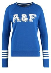 Abercrombie And Fitch Core Sweatshirt Blue
