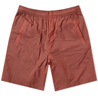 Acne Studios Romeo Nylon Ripstop Short Orange
