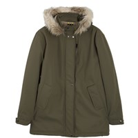 Roamers And Seekers Precision Military Olive Quilted Parka Green