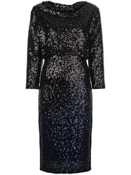 Badgley Mischka Sequin Midi Dress 60