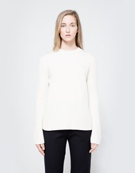 Just Female True Knit In Off White