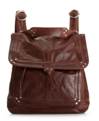 The Sak Ventura Leather Backpack Teak