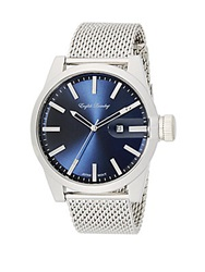 English Laundry Stainless Steel Mesh Bracelet Watch