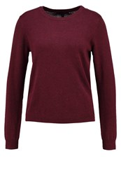 Tom Tailor Denim Jumper Cabernet Bordeaux Melange Berry