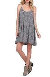 Volcom Women's Stampede Print Dress Sea Navy