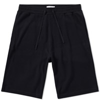 Sunspel Cellulock Sweat Short Black