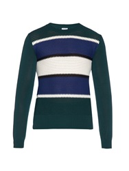 Loewe Striped Cotton Knit Sweater
