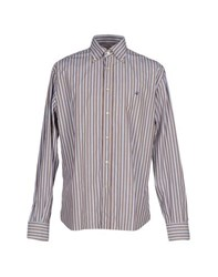 Brooksfield Shirts Shirts Men Brown