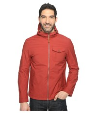 Timberland Mount Eisenhower Dryvent Hooded Bomber Rosewood Men's Coat Red