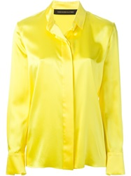 Alexandre Vauthier Classic Shirt Yellow And Orange