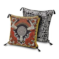 Missoni Home Oroscopo Ricamato Cushion 40X40cm Ox