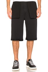 Public School Mono Shorts Black