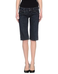 Guru Denim Capris Blue