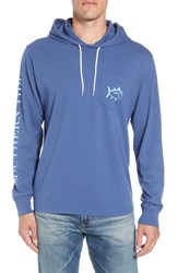 Southern Tide Gradient Hooded Pullover Seven Seas Blue