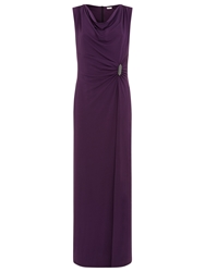 Planet Purple Maxi Dress Purple