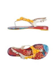 Poetic Licence Thong Sandals Ivory