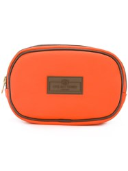Otis Batterbee Small Wash Bag Yellow Orange