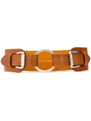 Faith Connexion Multi Buckle Belt Neutrals