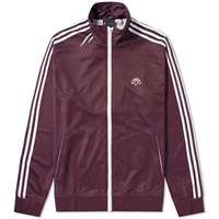 Adidas By Alexander Wang Originals Track Top Burgundy