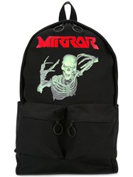 Off White 'Mirror' Backpack Black
