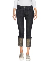 Guess By Marciano Denim Capris Black