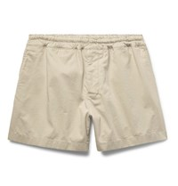 Acne Studios Andy Stretch Cotton Shorts Beige
