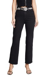 Good American Curve Straight Jeans Black030