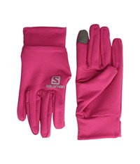 Salomon Active Glove U Gaura Pink Cycling Gloves
