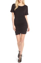 Leith Women's Ruched Dolman Body Con Dress