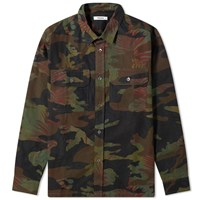 Tres Bien Box Overshirt Green