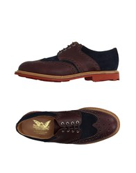 Mark Mcnairy Lace Up Shoes Cocoa