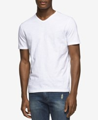 Calvin Klein Jeans Men's T Shirt White Wash