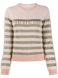 Red Valentino Striped Crewneck Jumper 60