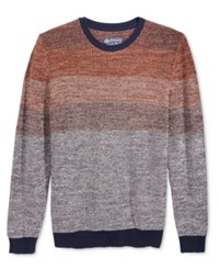 American Rag Men's Ombre Sweater Only At Macy's Brown Quartz
