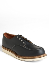 Red Wing Shoes Moc Toe Derby Black Chrome 8106