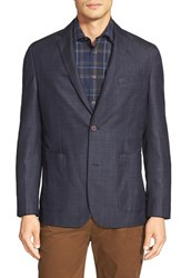 Men's Vince Camuto 'Dell Aria Air' Trim Fit Jacket Dark Navy Denim