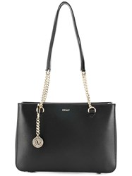 Donna Karan Chain Strap Shoulder Bag Black