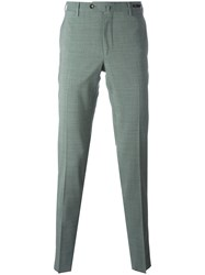 Pt01 Off Centre Button Chinos Green
