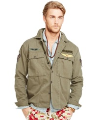 Denim And Supply Ralph Lauren Military Shirt Jacket