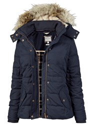 Fat Face Pointon Short Puffer Blue