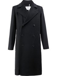 Ports 1961 Double Breasted Coat Black