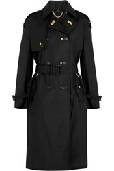 Burberry Silk And Wool Blend Trench Coat