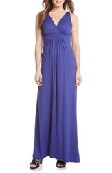 Women's Karen Kane 'Julie' Surplice Jersey Maxi Dress